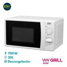 Microondas com Grill 700W 07408 EDM