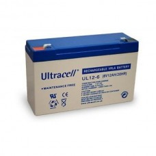 Lead Battery General Use 6V 12A ULTRACELL