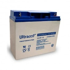 Lead Battery General Use 12V 22AH (181X77X167MM) ULTACELL