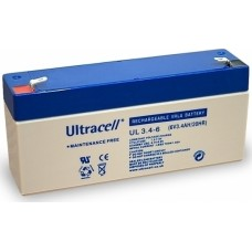 Lead Battery General Use 6V 3.4A 125x33x60 JOIN