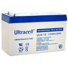 Lead Battery General Use 12V 9A ULTRACELL UL9-12